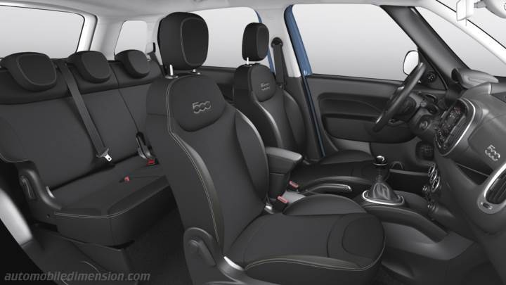 Fiat 500L Cross 2017 interieur