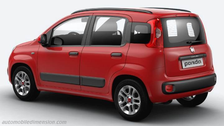 fiat panda 2016 dimensions boot space and interior