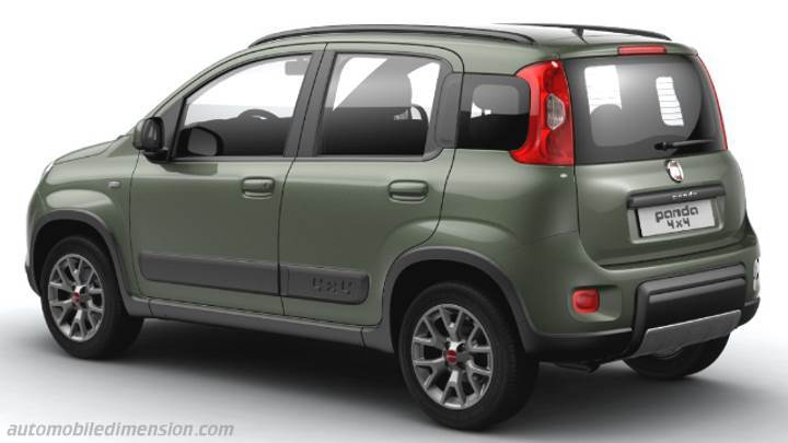 fiat panda 4x4 2016 dimensions boot space and interior. Black Bedroom Furniture Sets. Home Design Ideas