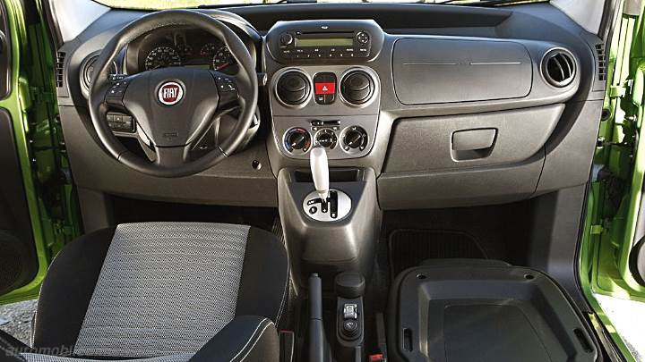 4X4 Vans For Sale >> Fiat Qubo 2012 dimensions, boot space and interior