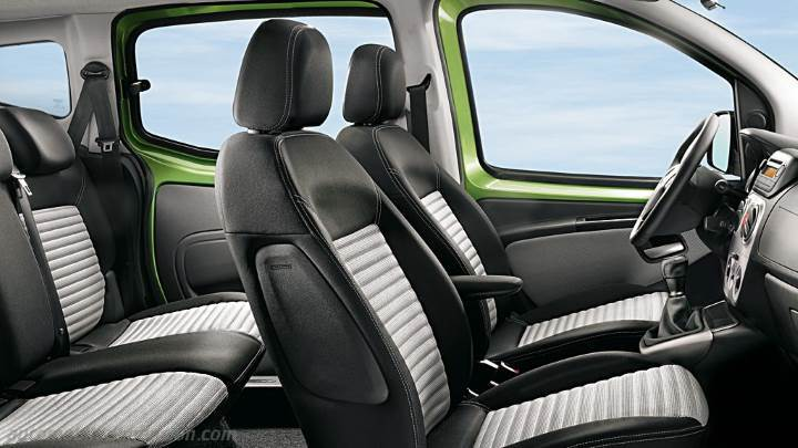 Fiat Qubo 2012 Dimensions Boot Space And Interior