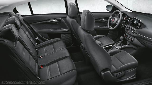 Fiat Tipo 5-door 2016 interieur