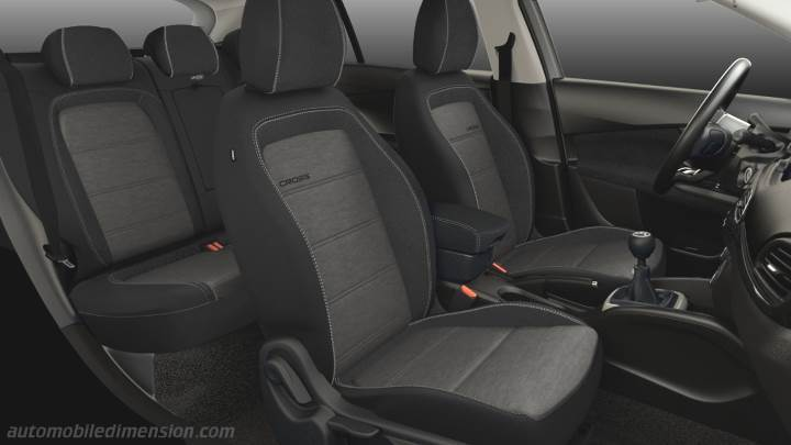 Fiat Tipo Cross 2021 interieur