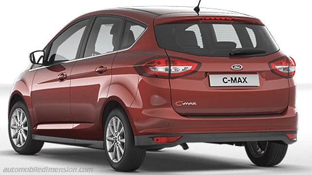 Coffre Ford C-MAX 2015