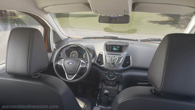 ford ecosport 2016 dimensions boot space and interior. Black Bedroom Furniture Sets. Home Design Ideas