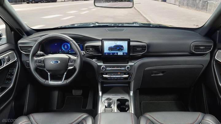 Ford Explorer 2020 dashboard