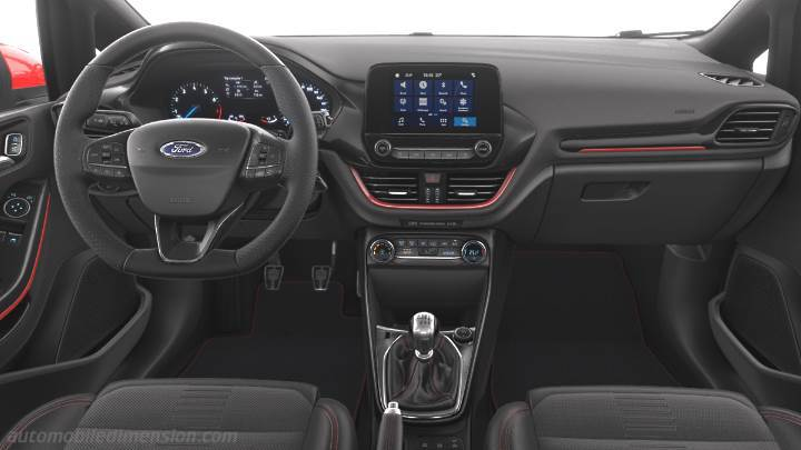Ford Fiesta 2017 Dimensions Boot Space And Interior