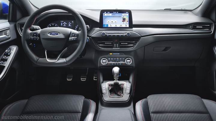 Ford Focus 2018 dashboard