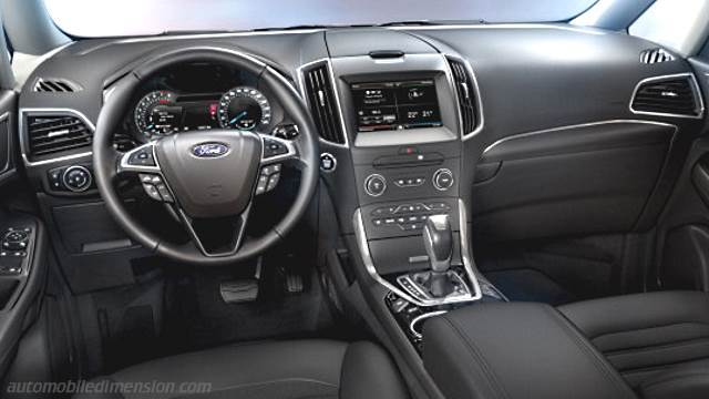 Ford Galaxy 2015 dashboard