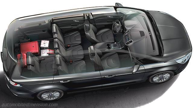 ford galaxy 2015 dimensions boot space and interior. Black Bedroom Furniture Sets. Home Design Ideas