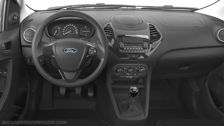 Ford Ka+ 2018 dashboard