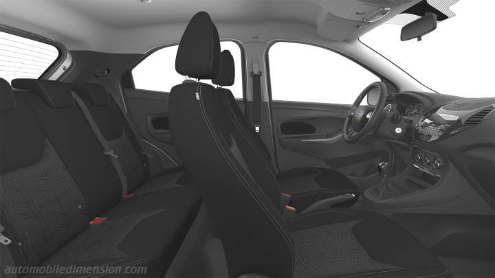 Ford Ka+ 2018 interieur