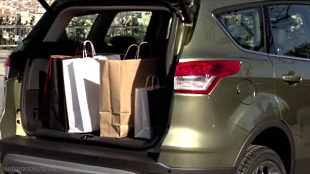ford kuga 2013 dimensions boot space and interior. Black Bedroom Furniture Sets. Home Design Ideas