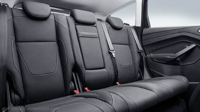 dimensions ford kuga 2013 coffre et int rieur. Black Bedroom Furniture Sets. Home Design Ideas