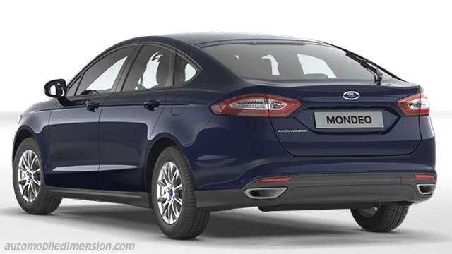 ford mondeo 2015 dimensions boot space and interior. Black Bedroom Furniture Sets. Home Design Ideas