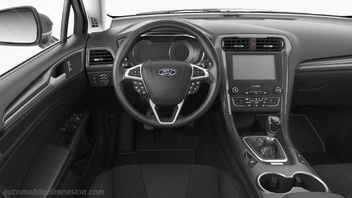 Ford Mondeo 2019 dashboard