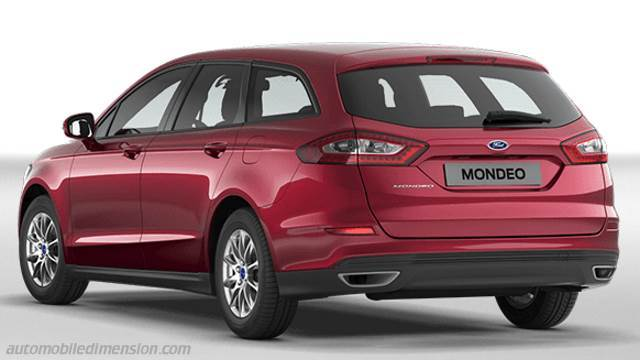 Coffre Ford Mondeo SportBreak 2015