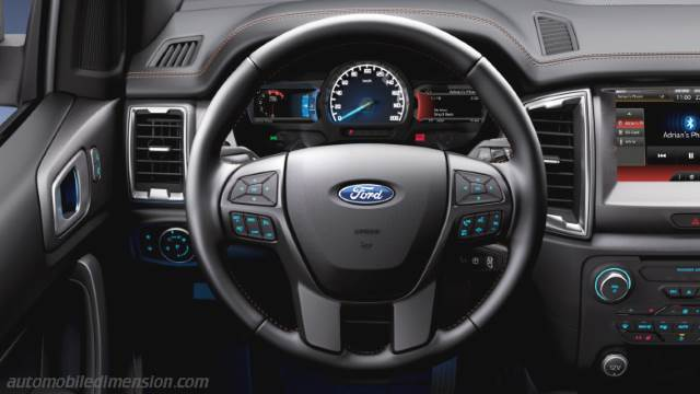 Ford Ranger 2016 dashboard