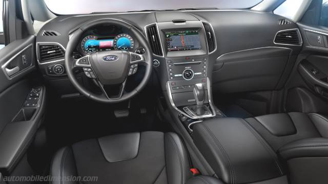 dimensions ford s max 2015 coffre et int rieur. Black Bedroom Furniture Sets. Home Design Ideas