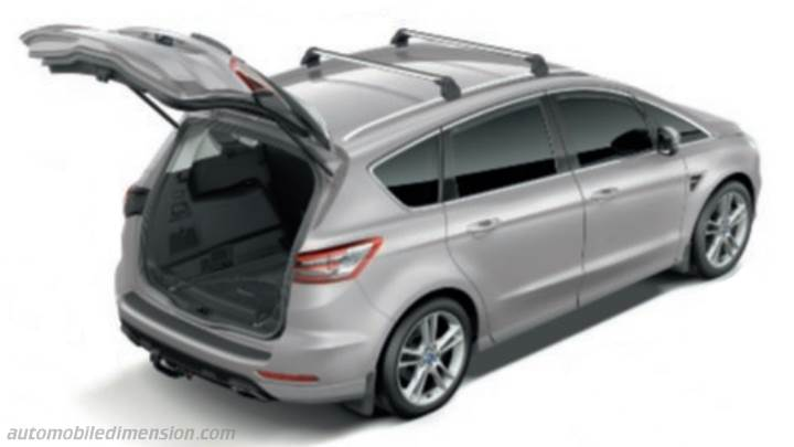 Ford S-MAX 2020 bagageutrymme