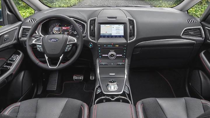 Ford S-MAX 2020 dashboard
