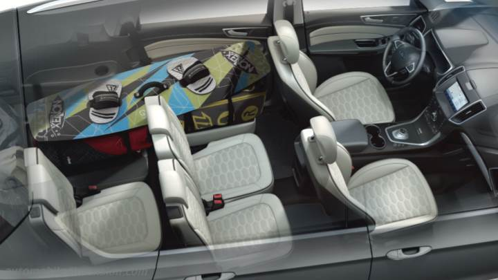 Ford S-MAX 2020 interieur