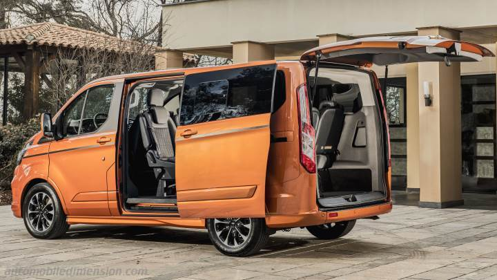 Coffre Ford Tourneo Custom L1 2018