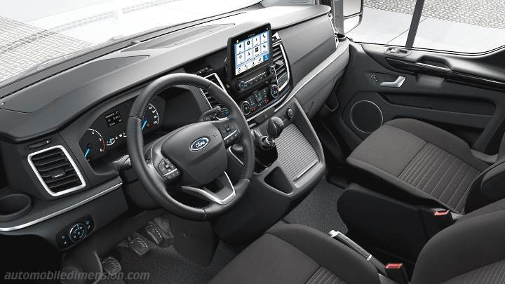 Ford Tourneo Custom L2 2018 dashboard