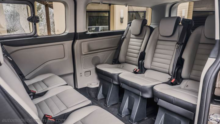 Ford Tourneo Custom L2 2018 interior