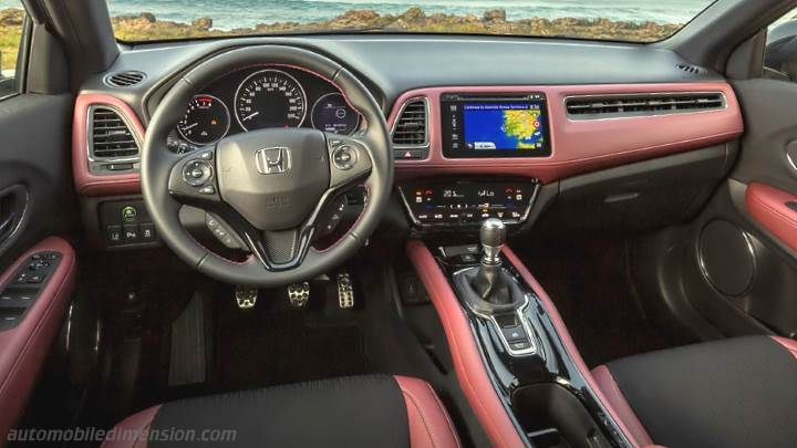 Honda HR-V 2019 dashboard