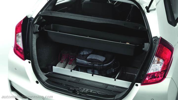 Honda Jazz 2018 Dimensions Boot Space And Interior