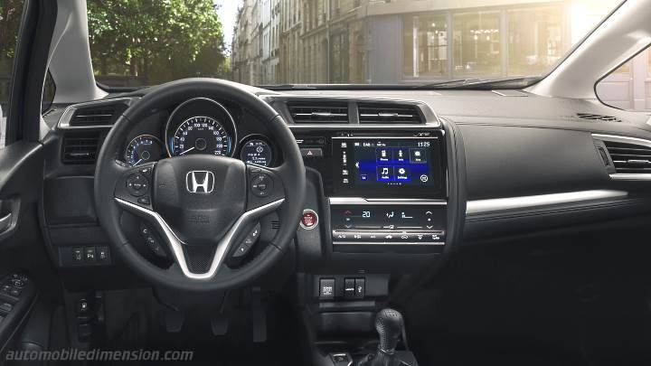 Honda Jazz 2018 dashboard