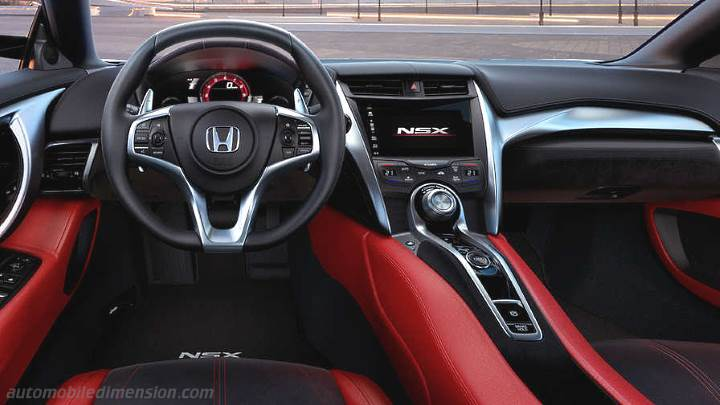 Jeep 4x4 2017 >> Honda NSX 2017 dimensions, boot space and interior