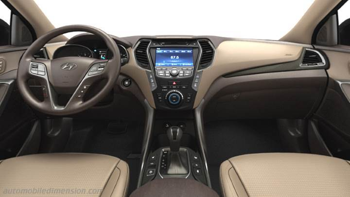 Hyundai Grand Santa Fe 2013 dashboard