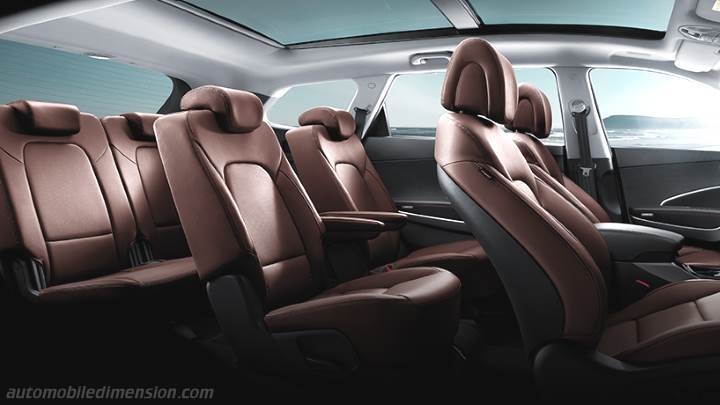 Hyundai Grand Santa Fe 2013 interior