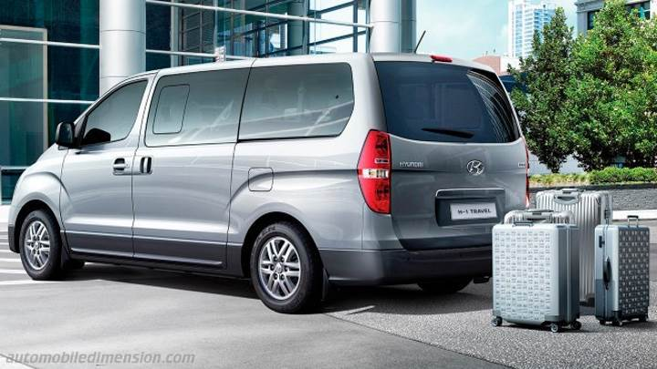 Hyundai H-1 Travel 2015 kofferbak