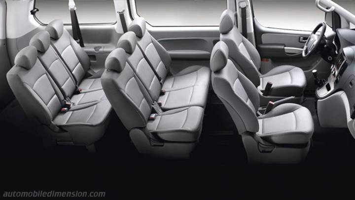 Hyundai H-1 Travel 2015 interieur