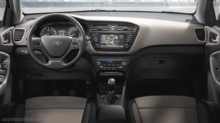 Dimensions hyundai i20 2015 coffre et int rieur for Interieur hyundai i20