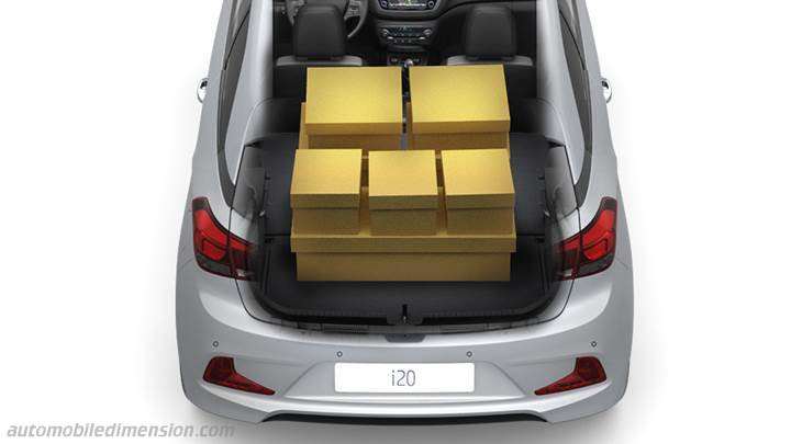 Hyundai i20 Coupe 2015 boot