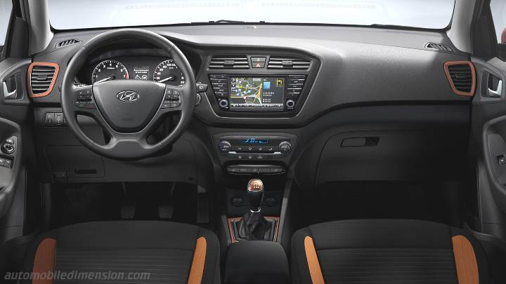 Hyundai i20 Coupe 2015 dashboard