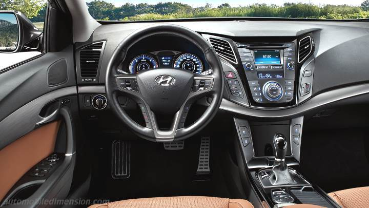 Hyundai I40 2015 Dimensions Boot Space And Interior
