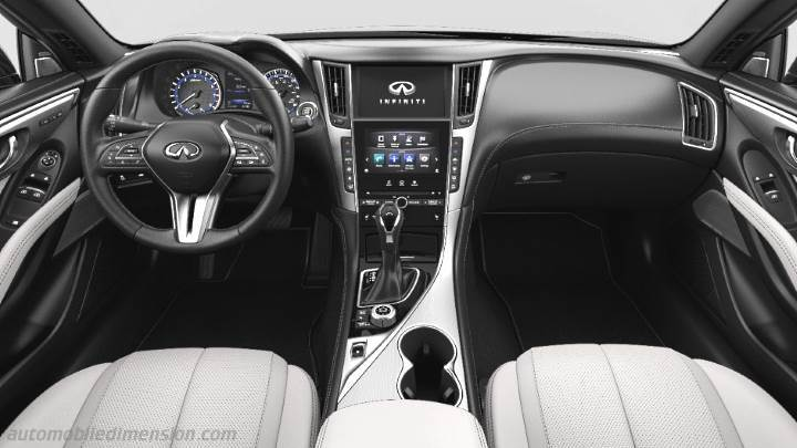 Infiniti Q60 2017 Dimensions Boot Space And Interior