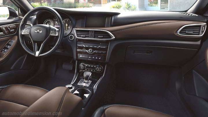 Range Rover Suv Interior >> Infiniti QX30 2016 dimensions, boot space and interior