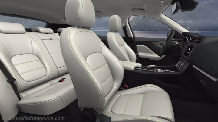 New Lexus Suv >> Jaguar F-PACE 2016 dimensions, boot space and interior