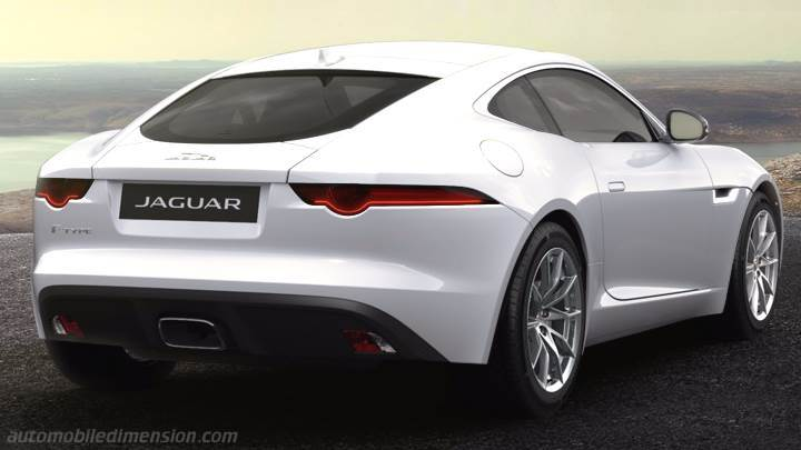 Jaguar F Type Coupe 2017 Dimensions Boot Space And Interior