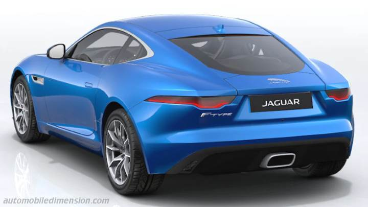 Jaguar F-TYPE Coupe 2020 boot