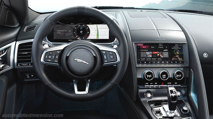 Jaguar F-TYPE Coupe 2020 dashboard
