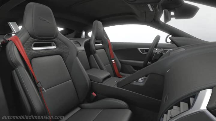 Jaguar F-TYPE Coupe 2020 interior