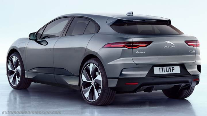 Jaguar I Pace 2018 Dimensions Boot Space And Interior