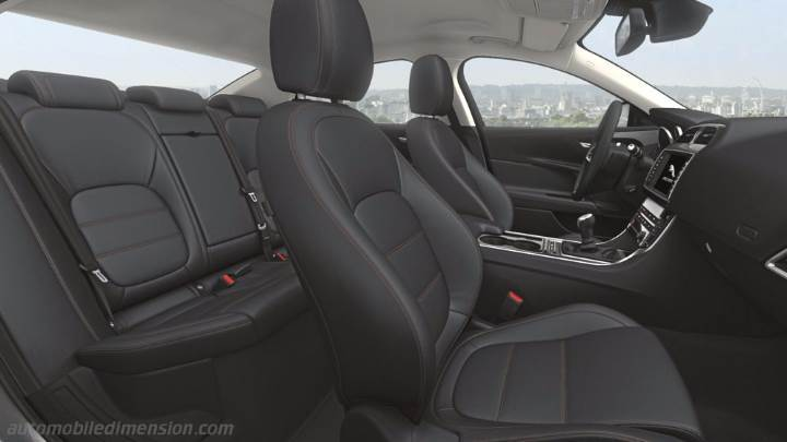 Jaguar Xe 2015 Dimensions Boot Space And Interior